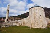 old stone castle near sarajevo, bosnia - 175391032