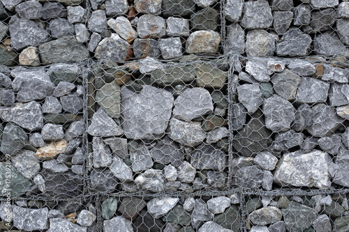 Poster Stenen structure granite wall