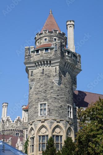 Stampa su Tela Scottish Tower