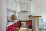 Interior of a kitchen in a private apartment - 175395255