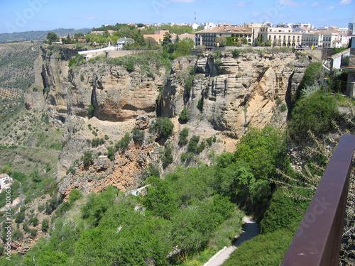 Keuken foto achterwand Olijf Gorgeous views in Ronda, Spain