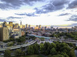 Back Bay Boston in Massachusetts, USA, Skyline of downtown on a Summer, Aerial view - 175404051
