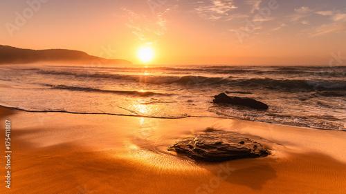 Fotobehang Zonsopgang Sunrise Seascape