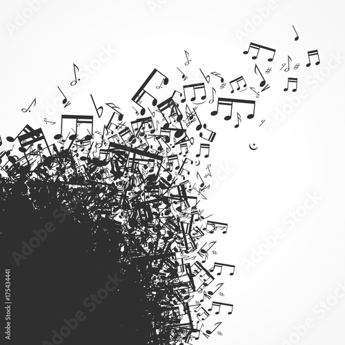 Fotobehang Muziek musique