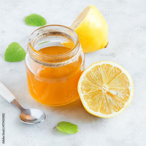 Lemon and honey Poster