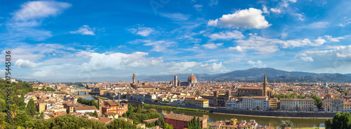 In de dag Barcelona Panoramic view of Florence