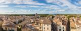 Aerial view of Arles, France
