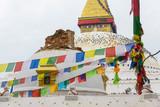 Aftermath of Nepal earthquake 2015, Bhoudhanath stupa in Kathmandu - 175462887