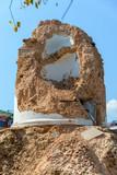 Aftermath of Nepal earthquake 2015, collapsed Dharhara tower in Kathmandu - 175463204