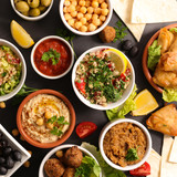 assorted lebanese food - 175466831