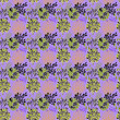 Hand drawn ornamental flowers pattern - 175468873