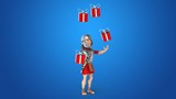 Fun roman soldier - 3D Animation - 175472812