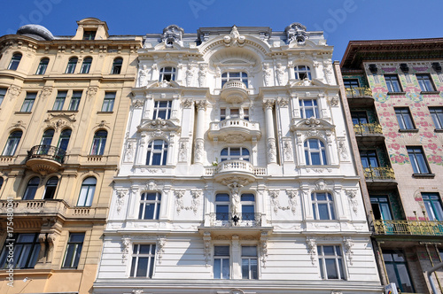 Häuser in Wien Poster