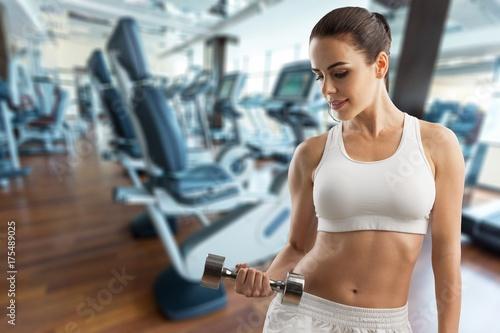 Fotobehang Fitness Fitness.
