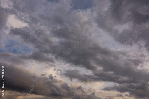 Foto op Aluminium Lavendel Nuvole