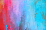 Colorful painted canvas with copy space - 175499440