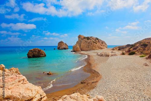 Fotobehang Cyprus Aphrodite Bucht,Zypern