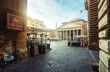Quadro Pantheon in Rome, Italy