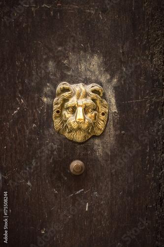 Alte Tür, Dekoration Poster