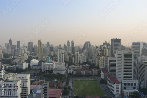 In de dag Bangkok Bangkok skyline