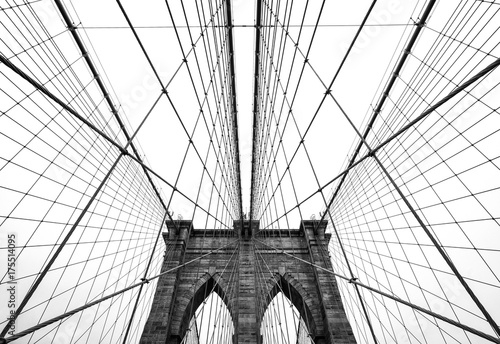 Foto op Canvas New York Brooklyn bridge of New York City, USA