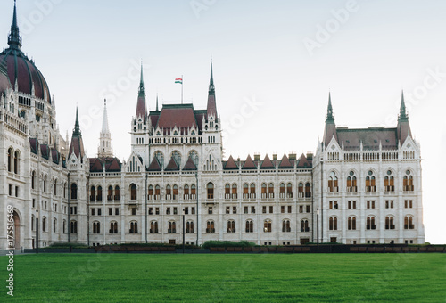 Fotobehang Boedapest Budapest parliament in Hungary