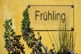 Schild 233 - Frühling - 175517650