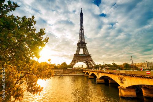 Fotobehang Eiffeltoren Paris