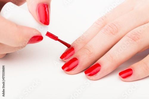 Foto op Aluminium Manicure Nail polish.