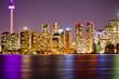 Night lights of Toronto