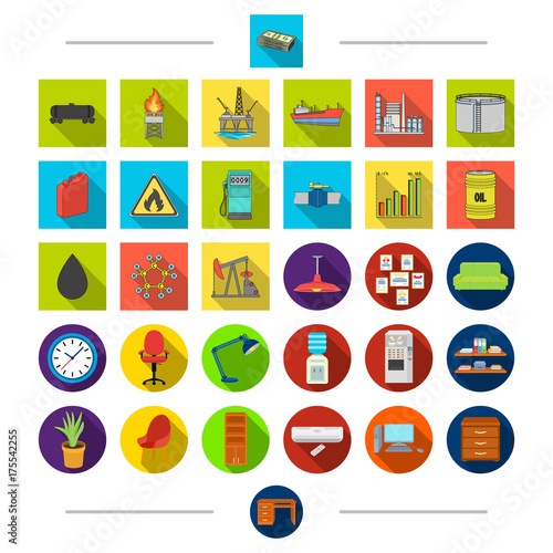 In de dag Indiërs Equipment, industrial, transport and other web icon in cartoon style. Drawers, office, furniture, icons in set collection.