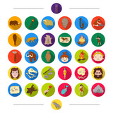 Evolution, animals, nature and other web icon in cartoon style. Antiquity, century, history icons in set collection. - 175542465