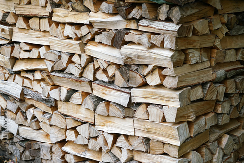 In de dag Brandhout textuur stacking fire wood