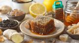 Honey, lemon and ginger - 175559452