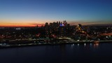 Aerial View Center City Philadelphia Just After Sunset - 175563675