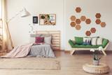 Botanical bedroom with plants - 175564609