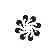 circle abstract vector