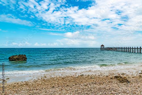Foto op Canvas Zanzibar Zanzibar Coast Landscape in Tanzania. Zanzibar is a semi-autonomous region of Tanzania in East Africa.
