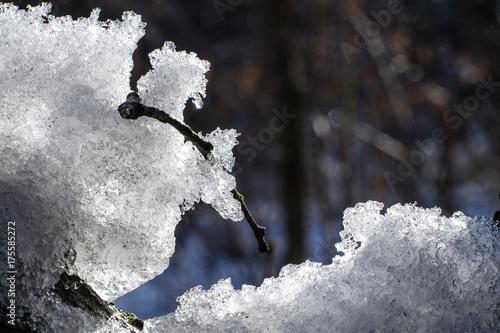 Śnieżne góry © Fabio