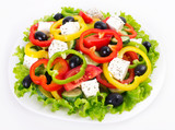 Fresh greek salad - 175589407