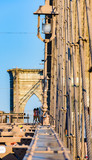 Brooklyn Bridge from another perspective, New York, USA