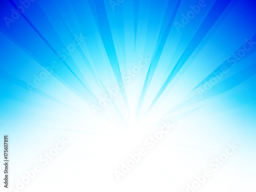 Fridge magnet abstract sky blue background