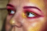 Maquillage,gros plan sur des yeux maquillés - 175611846