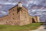 Fort Chambly, a national historic site in Quebec, Canada. - 175616075