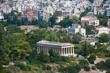 Ancient buildings in Athens Greece - 175625485