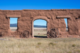 Old Fort in New Mexico - 175630280
