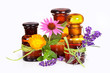 Quadro Wellness with lavender, calendula, echinacea