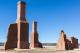 Chimney at Old Fort in New Mexico - 175630477