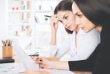Females doing paperwork - 175632487
