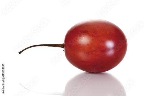 Foto Murales Tamarillo or Tree Tomato (Solanum betaceum, Cyphomandra betacea)